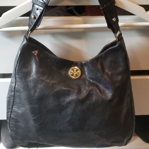 Vintage Tory Burch Black Shoulder Bag